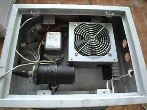 видео: Делаем коптильню холодного копчения-3(высоковольтный генератор)