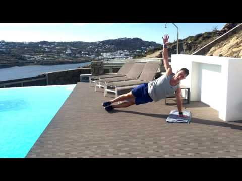Greece Day 2: Vacation Workouts with Chris Tye-Walker