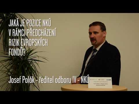Minuty TI: Josef Polák - Role NKÚ v souvislosti s fondy EU