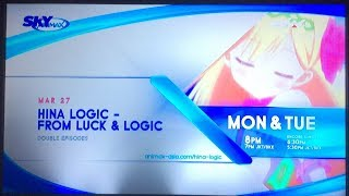 Hina Logic from Luck and Logic (Animax Asia PH) (Promo A)