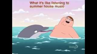 Peter Griffin and house music