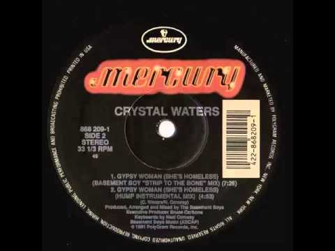 CRYSTAL WATERS - Gipsy woman LP