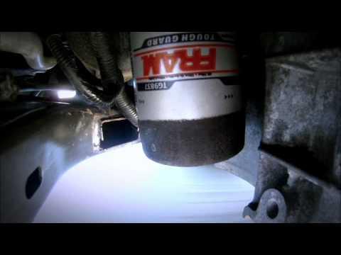 La filtración del filtro de aceite FRAM pruebas e Ingeniería