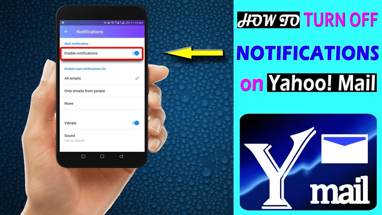 alert mail mobile phone search yahoo