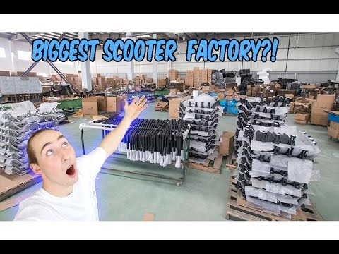 MASSIVE CHINESE SCOOTER FACTORY!