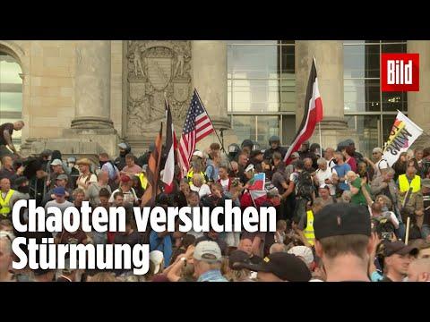 Nach Corona-Demo in Berlin: So lief der Angriff auf den Reichstag ab