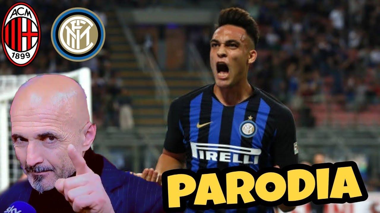 MILAN INTER 2-3 - Parodia