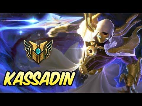 HOW TO PLAY KASSADIN | 79% Win Rate Diamond Commentary | Cosmic Reaver Kassadin | League of Legends