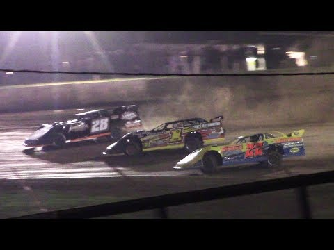 ULMS Super Late Model B-Main One | Eriez Speedway | 9-22-17