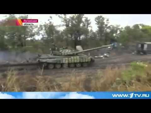 Новости Украины В Луганской области ополченцы ведут переговоры с солдатами Нацгвардии