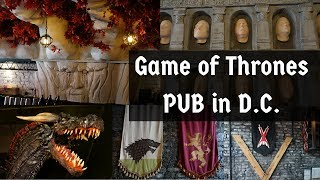 got fans must see tour the game of thrones pub in dc