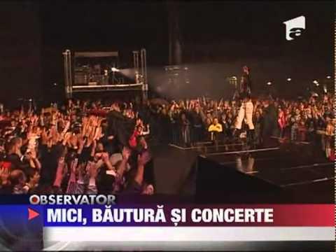 Ruslana in Romania | Observator, Antena 1. 01.10.2011