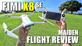Xiaomi FIMI X8 SE Maiden Flight Test Review - [Lots of Pros & Lots of Cons]