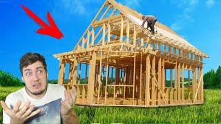 ПОСТРОИЛ КАРКАС - СТРОЮ ДОМ в House Builder
