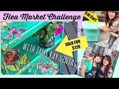 How to make money Flipping  Flea Market Furniture with Jami Ray Vintage