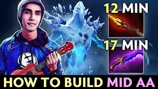 How to BUILD mid AA by Sumail — Dagon FIRST ITEM after Midas