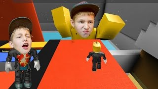 ROBLOX gameplay in het Nederlands ( Roblox escape the bathroom obby )
