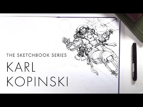Sketchbook Ep.1 - Karl Kopinski