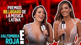 En vivo desde la #AlfombraRojaE! de los Premios Billboard de la Musica Latina 2017