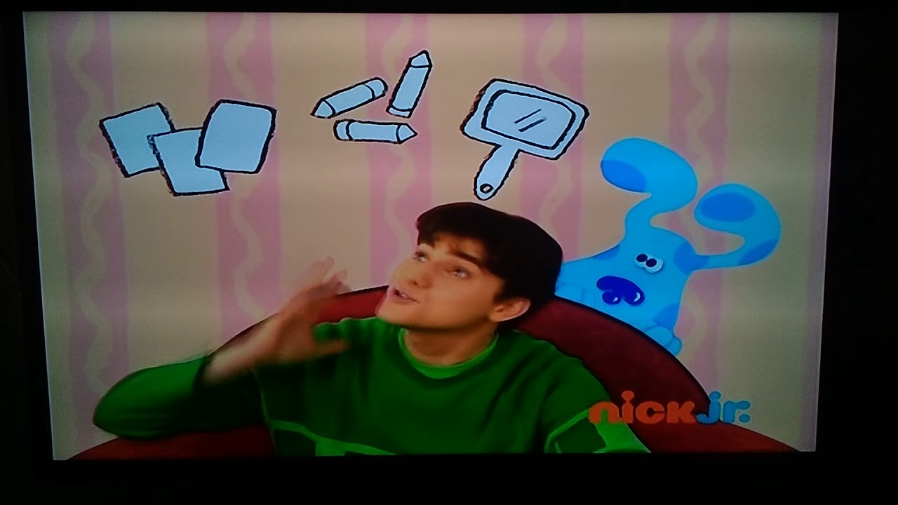 Blue's Clues We Sat On Down (The Big Book About Us) - YouTube