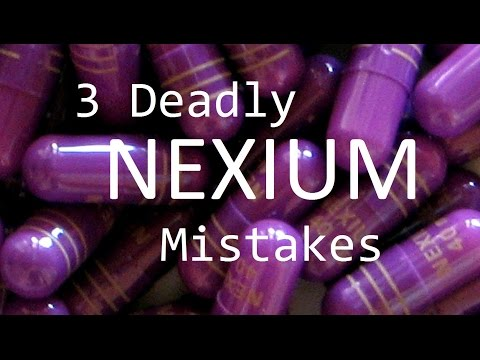 3 Deadly Nexium Mistakes