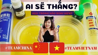 Clear Slime Competition | Clear Glue from China and VietNam