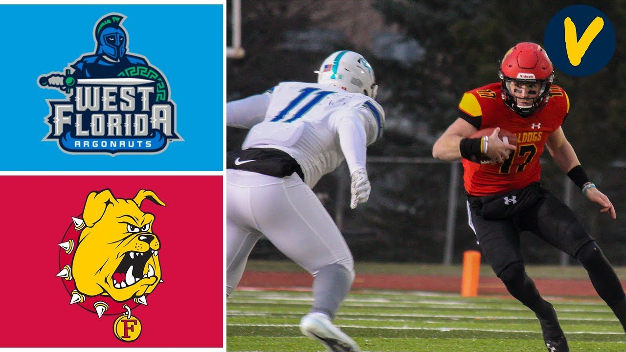 West Florida vs Ferris State Highlights | Division 2 Playoffs Semi-Final