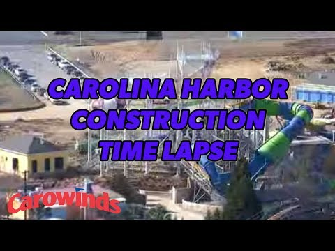 Carolina Harbor Construction Time Lapse