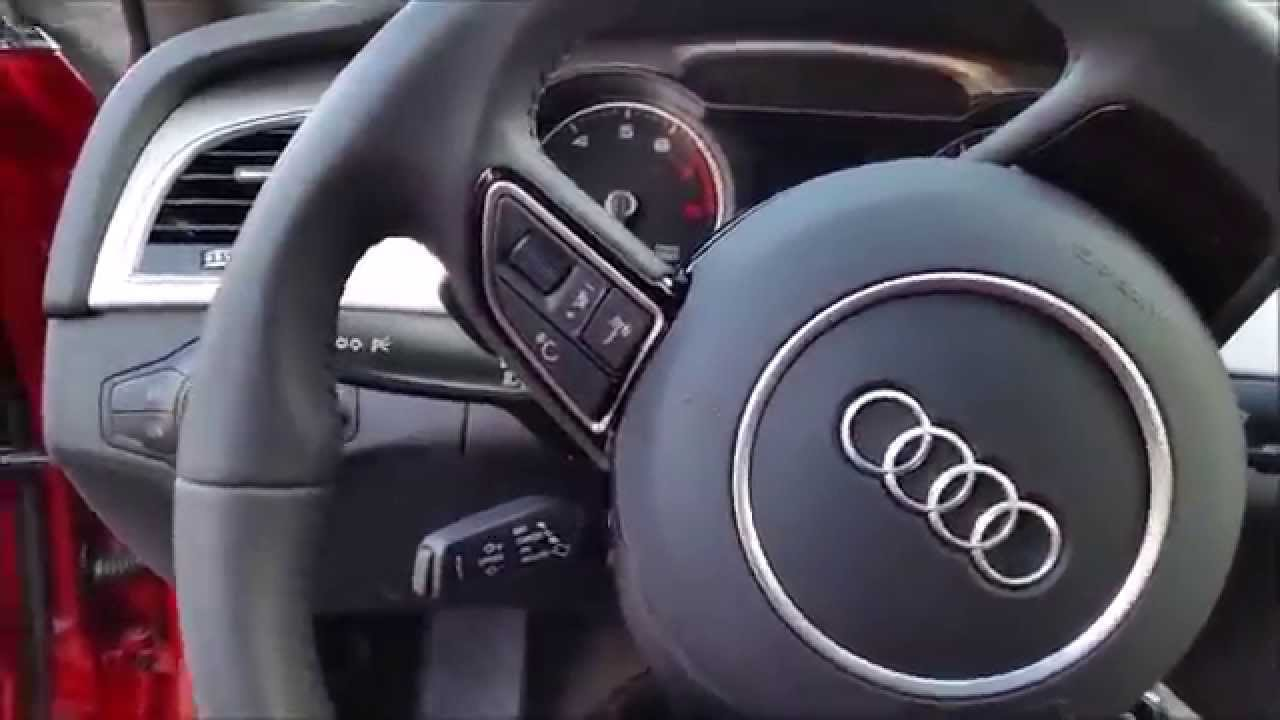 Como Encender Un Audi A4 2010    How To Start An Audi A4