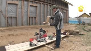 видео Какие инструменты нужны для возведения брусового дома