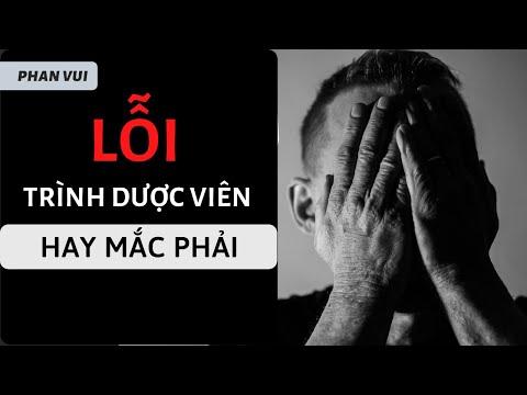 TRÌNH DƯỢC VIÊN HAY MẮC PHẢI TRONG BÁN HÀNG  - CEO PHAN VUI