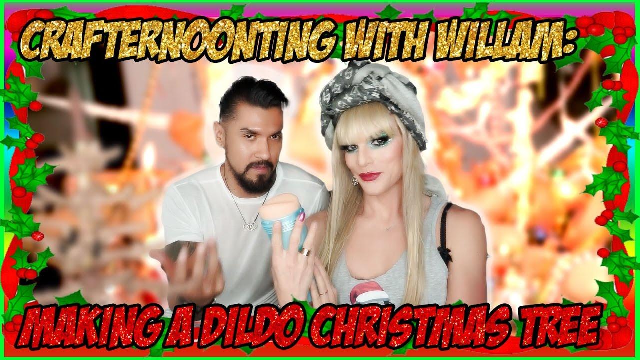 Crafternoonting with WILLAM: Dildo Christmas Tree (ps. KICKSTARTER ...