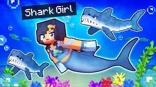 Return of my SHARK GIRL In Minecraft!