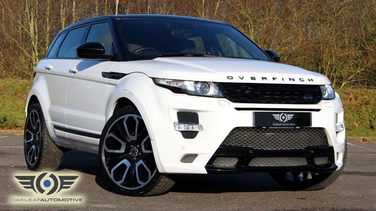 Range Rover Evoke >> RANGE ROVER EVOQUE SD4 OVERFINCH - YouTube