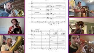 Take on Me - A-HA for trombones and tuba (arr. Brett Copeland)