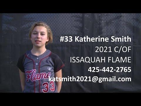 Katherine Smith Softball Skills Video