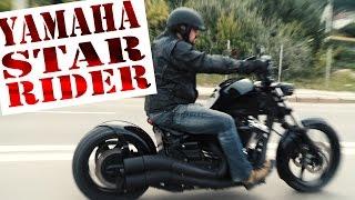 YAMAHA XV1900 STAR RAIDER кастом, боббер, обзор мотоцикла МОТОЗОНА 13 смотреть