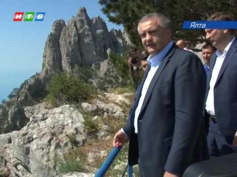 В Крыму продолжается очистка плато Ай-Петри