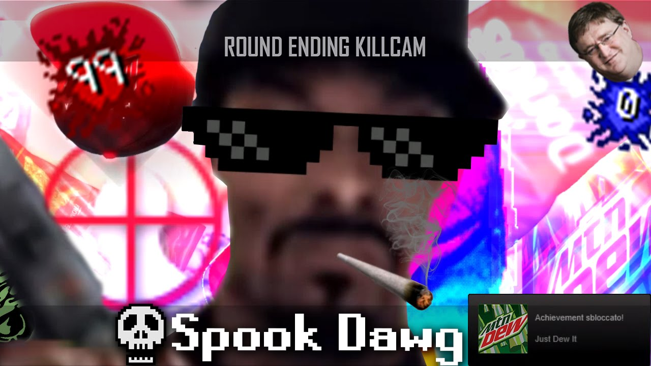 Mlg Spook Dawg Snoop Dogg Fights The Spooky Scary Skeleton 420