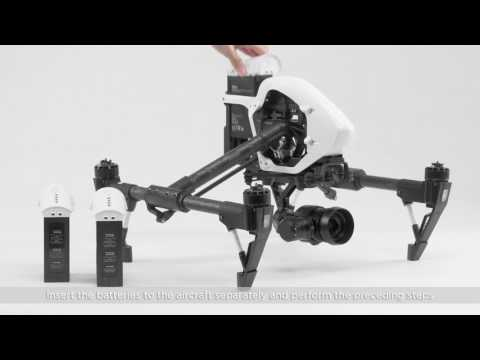 DJI Inspire 1 – Aircraft Firmware Update Steps and Its Result Analysis