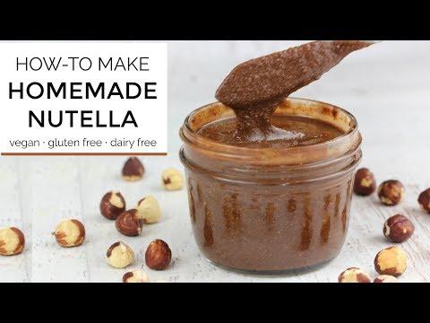 How To Make Homemade Nutella   DIY RECIPE
