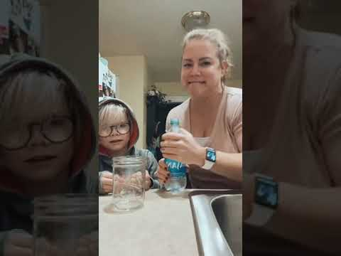 Mother And Son Tries But Fails At Frozen Water Experiment – 1181246