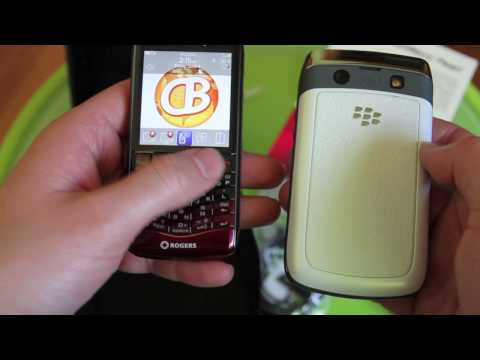 Rogers BlackBerry Pearl 3G Video Unboxing
