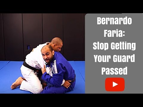 Guard Retention: How To Stop Your Guard From Getting Passed by Bernardo Faria