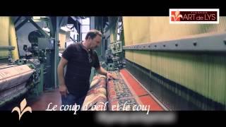 Изготовление гобеленов на ART de LYS(Так создаются гобелены. Раньше гобелены ткали вручную, теперь их помогают делать станки, однако они по преж..., 2015-07-12T23:22:18.000Z)