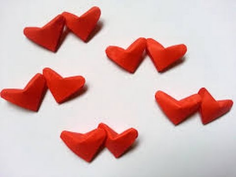 DIY Paper Crafts How To Make 3D Lucky Hearts