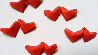Diy Paper Crafts :: How To Make 3d Lucky Hearts - Innovative Arts