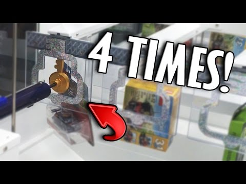 WINNING 4 TIMES IN A ROW AT KEY MASTER! | Arcade Games