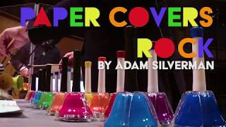 """Paper Covers Rock"" by Adam Silverman - performed by Quey Percussion Duo"