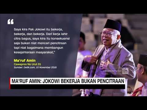 Ma'ruf Amin: Jokowi Bekerja Bukan Pencitraan Mp3